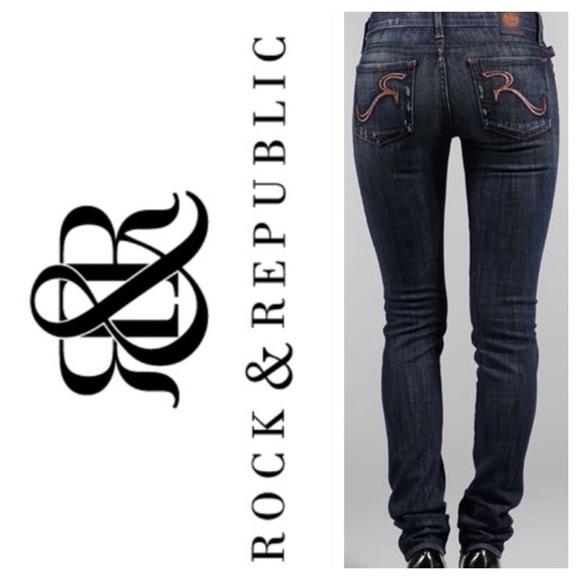 Rock & Republic Denim - Rock & Republic Berlin jeans RN #110113 CA# 19371